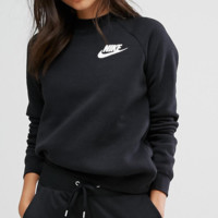 Nike Women Rally Crew Neck Gray Sweatshirt