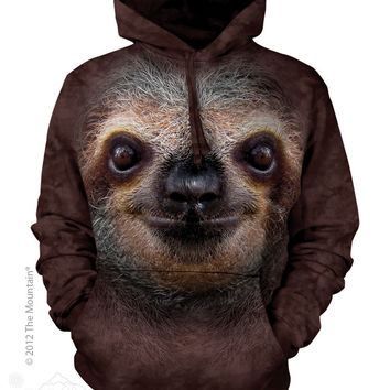 723596 Sloth Face Hoodie - Clearance