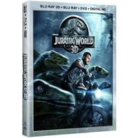 Jurassic World 3D (Blu-ray 3D + DVD + Digital HD) - Walmart.com