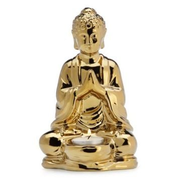Buddha Tealight | Archer Relaxed Dining Room Inspiration | Dining Room | Inspiration | Z Gallerie