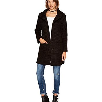 BB Dakota Kingston Ribbed Knit Coat