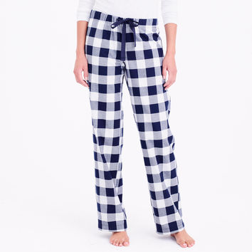 Yarn-dyed flannel pajama pant