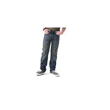 Signature By Levi Strauss Co. Boys' Modern Straight Relaxed Fit Jeans, 14