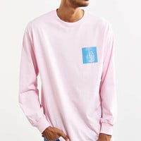 Division Of Labor Horror Long Sleeve Tee - Urban Outfitters
