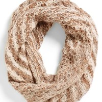BP. Striped Knit Infinity Scarf (Juniors) | Nordstrom