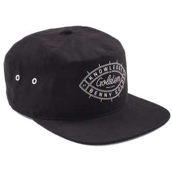 Golden Eye Black Unstructured Snapback Hat - Hats - Shop | Benny Gold