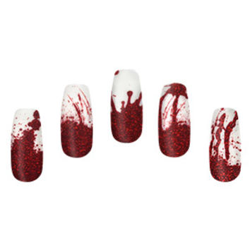 Blood Splatter Nail Wraps