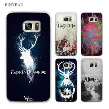 BINYEAE All This Time Always Harry potter Clear Phone Case Cover for Samsung Galaxy S3 S4 S5 Mini S6 S7 S8 Edge Plus