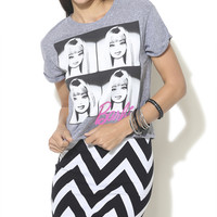4 Square Barbie Crop Tee  | Shop Tops at Wet Seal