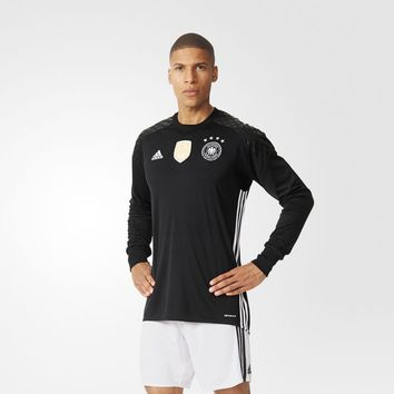 adidas UEFA EURO 2016 Germany Home Replica Goalkeeper Jersey - Black | adidas UK