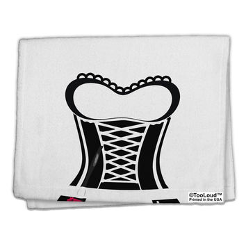 "French Maid AOP 11""x18"" Dish Fingertip Towel All Over Print"