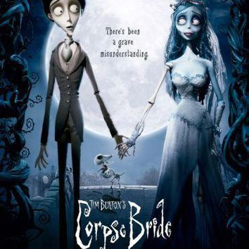 Corpse Bride movie poster Sign 8in x 12in