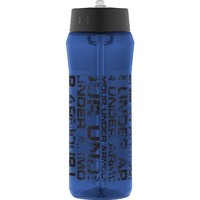 Under Armour Distressed 24 Ounce Tritan Bottle, Navy