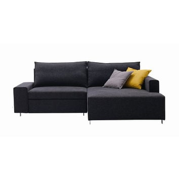 J&M Furniture Premium Sofa Bed K51 in Black