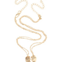 LOVEsick Partners In Crime BFF Necklace 2 Pack