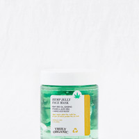 Truly Organic x Hemp Jelly Face Mask, Green