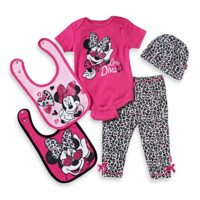 Minnie Mouse Little Diva 5-Piece Gift Set in Animal Print