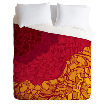 Karen Harris Fossil Blazing Hot Duvet Cover