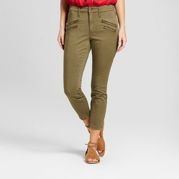 Women's High-Rise Skinny Utility Crop Jeans - Universal Thread™