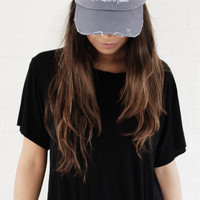 What A Time To Be Alive Distressed Hat - Blue