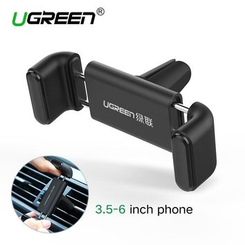Ugreen Car Holder for iPhone 6 Mobile Phone 360 Adjustable Air vent Holder Stand Car Phone Holder for Samsung Cell Phone