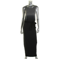 Fluxus Womens Dip-Dye Sleeveless Maxi Dress