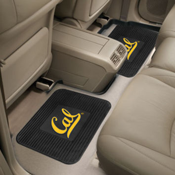 "California - Berkeley UC  University of  Backseat Utility Mats 2 Pack 14""x17"""