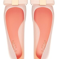 Ted Baker Escinta Pink Bow Flat Jelly Shoes