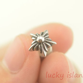 Tragus Earring Jewelry,starfish piercing jewelry, ear Helix Cartilage jewelry,starfish earring,friendship ear piercing,bff gift