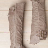 Take the Next Step Taupe Boot