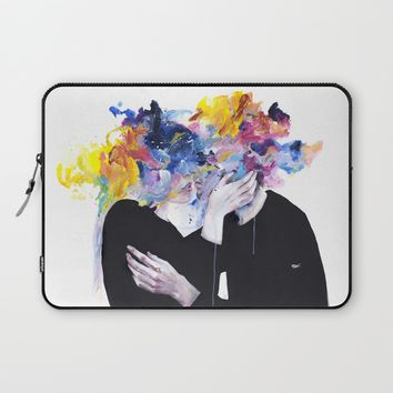 intimacy on display Laptop Sleeve by Agnes-cecile