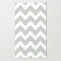 Chevron Sea Salt Rug by Beautiful Homes