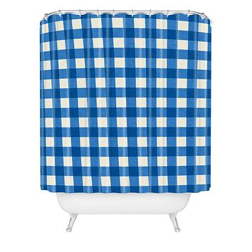 Holli Zollinger Gingham Shower Curtain