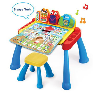 VTech Kids,Toddlers, Baby Educational Learning Touch and Learn Activity Desk