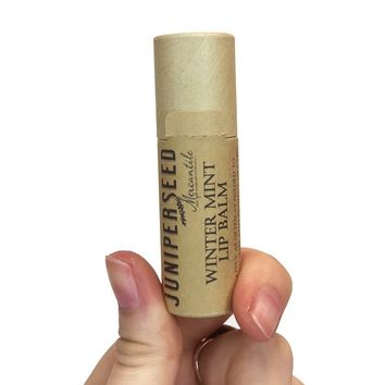 Juniperseed Mercantile Lip Balm in Winter Mint