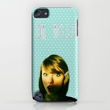 Oh Hello, Taylor iPhone & iPod Case by TSMM