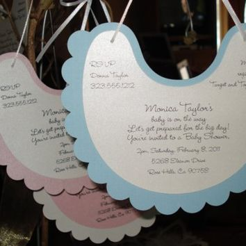 25 Baby Shower Invitations  Announcements  by PaperDivaInvitations
