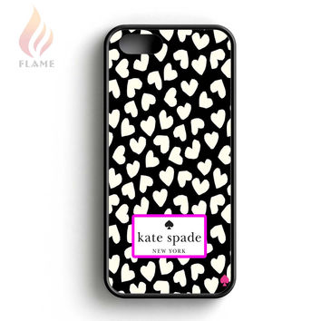 Kate Spade Heart Love iPhone 5 Case iPhone 5s Case iPhone 5c Case