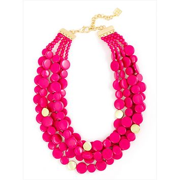 Oh My Dots! Beaded Necklace
