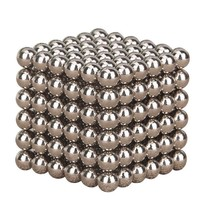 216pcs Silver Color Magic Cube Balls Toys Multi-Molding Educational toys  Anxiety Stress Adults Kid Metal Toy