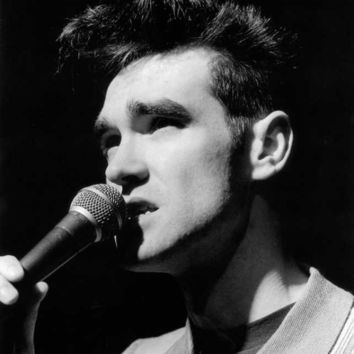 Morrissey (The Smiths, Microphone) Glossy Music Photo Photograph Print