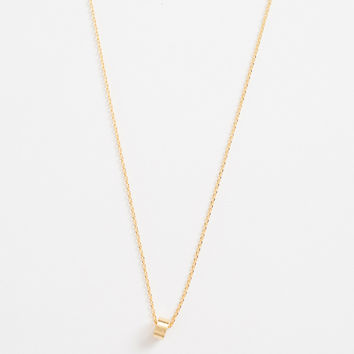 Marie Dainty Gold Ring Necklace