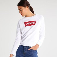 Levi's Fashion Round Neck Top Sweater Pullover Sweatshirt
