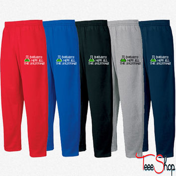 Chemists have all the solutions Sweatpants