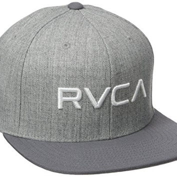 RVCA Men's Twill III Snapback Hat, Athletic, One Size