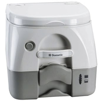 Dometic - 972 Portable Toilet 2.6 Gallon - Grey