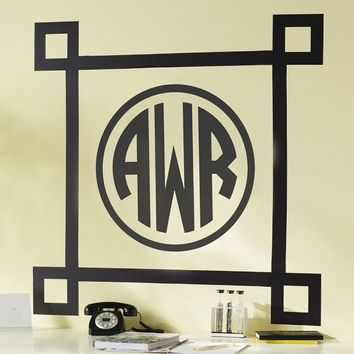 Classic Corners Wall Decal