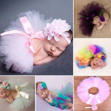 Newborn Photography Props Infant Costume Outfit for Princess Baby