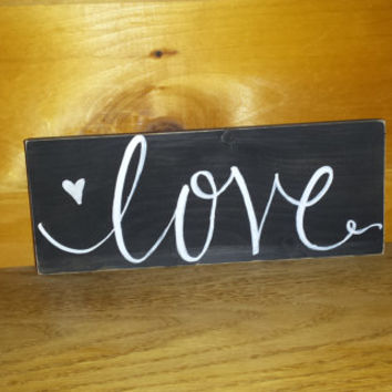 Rustic Love Sign, Primitive Sign, Rustic Country Home Decor, Rustic Wedding Decor, Country Wedding Sign, Bridal Shower Decor, Barn Wedding
