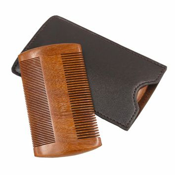 2017 New Arrival Sandalwood Comb- Wooden Anti-static Handmade Pocket Unisex Hair and Beard Wooden Comb